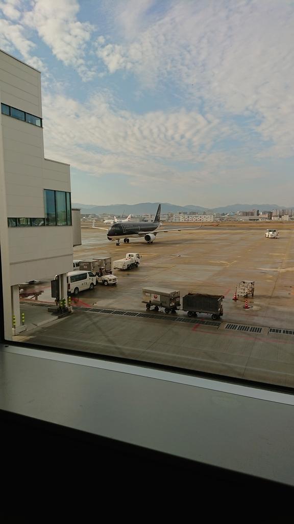 スターフライヤー SFJ32便 ANA 全日空 NH3832便 福岡 セントレア