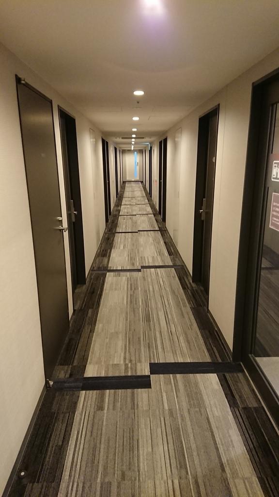 コンフォートホテル名古屋伏見 コンフォートホテル 通路 廊下