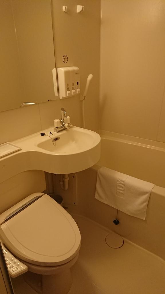東横イン中部国際空港1 東横イン セントレア 部屋 ルーム 浴室