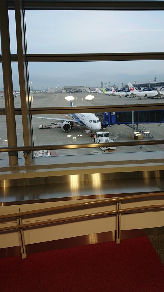 ANA 全日空 NH86便 B737 セントレア 羽田