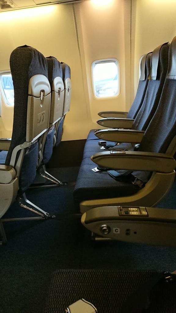 全日空 ANA NH86便 座席 シート セントレア 羽田