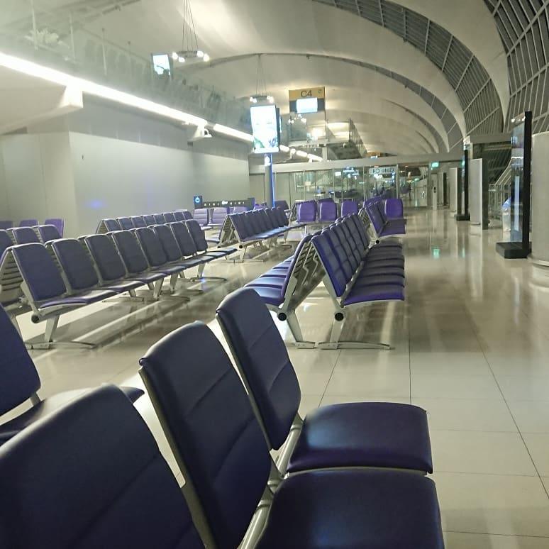 タイ国際航空 スワンナプーム国際空港 ターミナル 搭乗ゲート