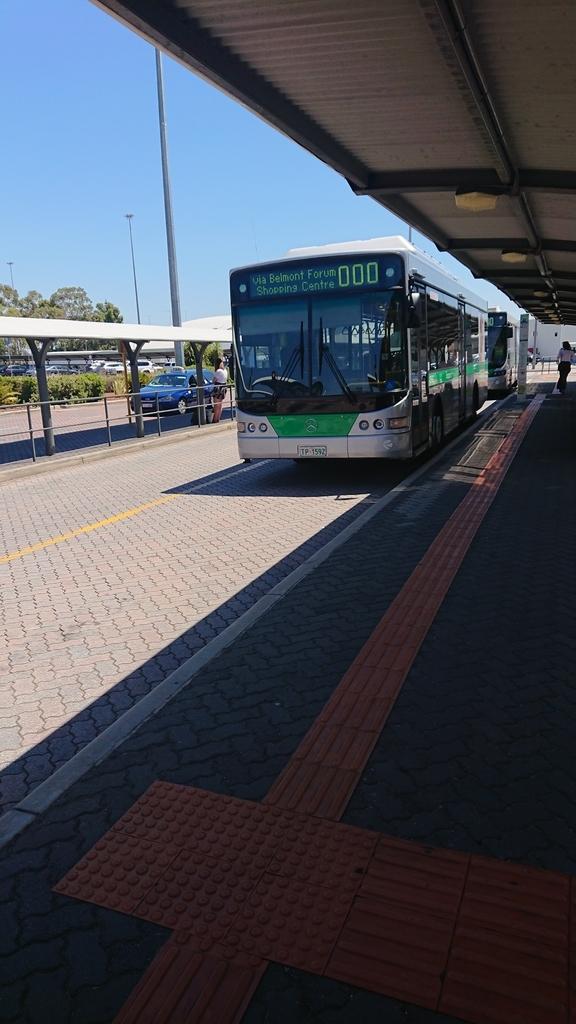 パース トランスパース 公共交通機関 交通機関 バス 空港アクセス アクセス