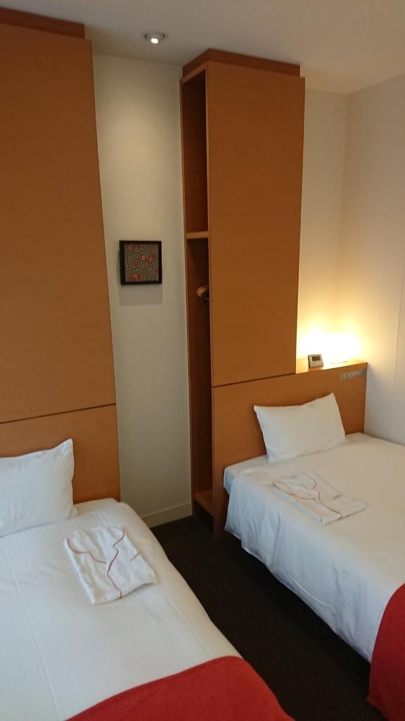 ホテル近鉄京都駅 ツインルーム 部屋