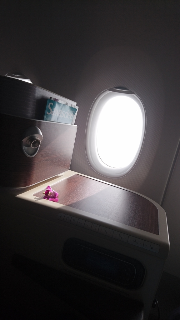 タイ国際航空 TG465 ロイヤルシルククラス ビジネスクラス A350-900