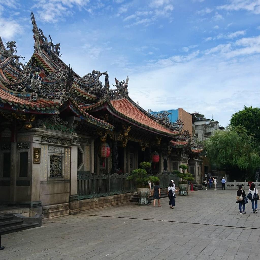 台北 台湾 台湾初心者 台北散策 散策 台北旅行 台北初心者 龍山寺