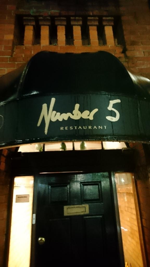 オークランド 夕食 Number 5 restaurant レストラン フォーポイントバイシェラトン・オークランド