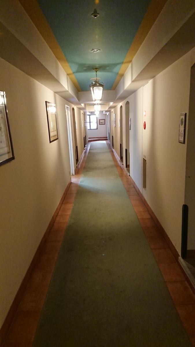 ホテルモントレ長崎 廊下 通路