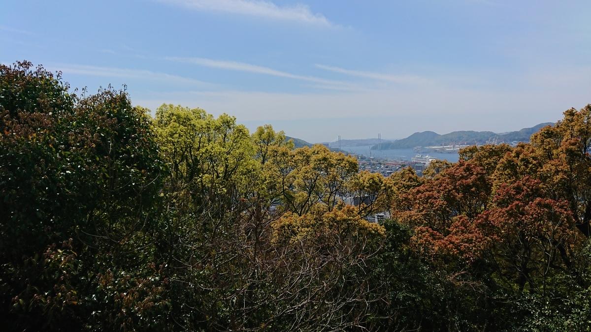長崎旅行 長崎 風頭公園 景色