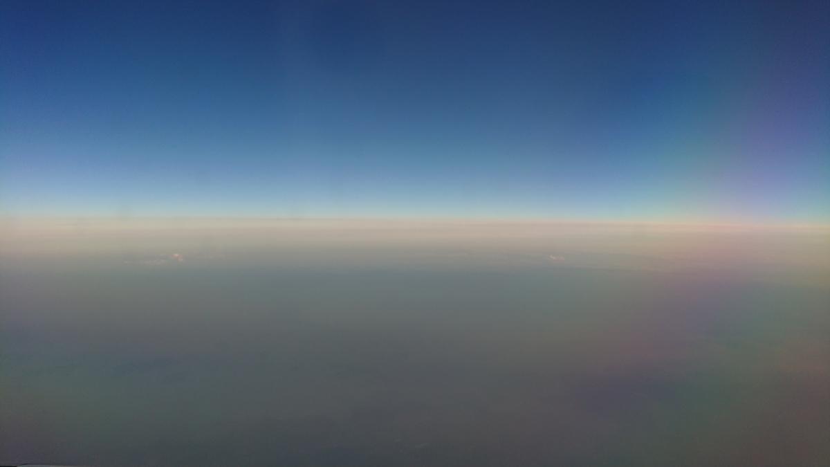 ジェットスター GK587 機内からの景色