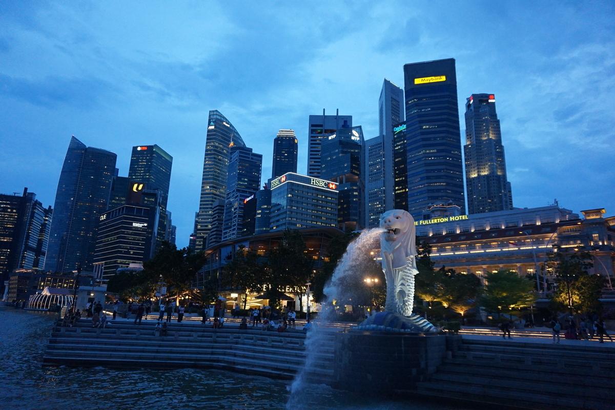 シンガポール マーライオン マーライオン公園
