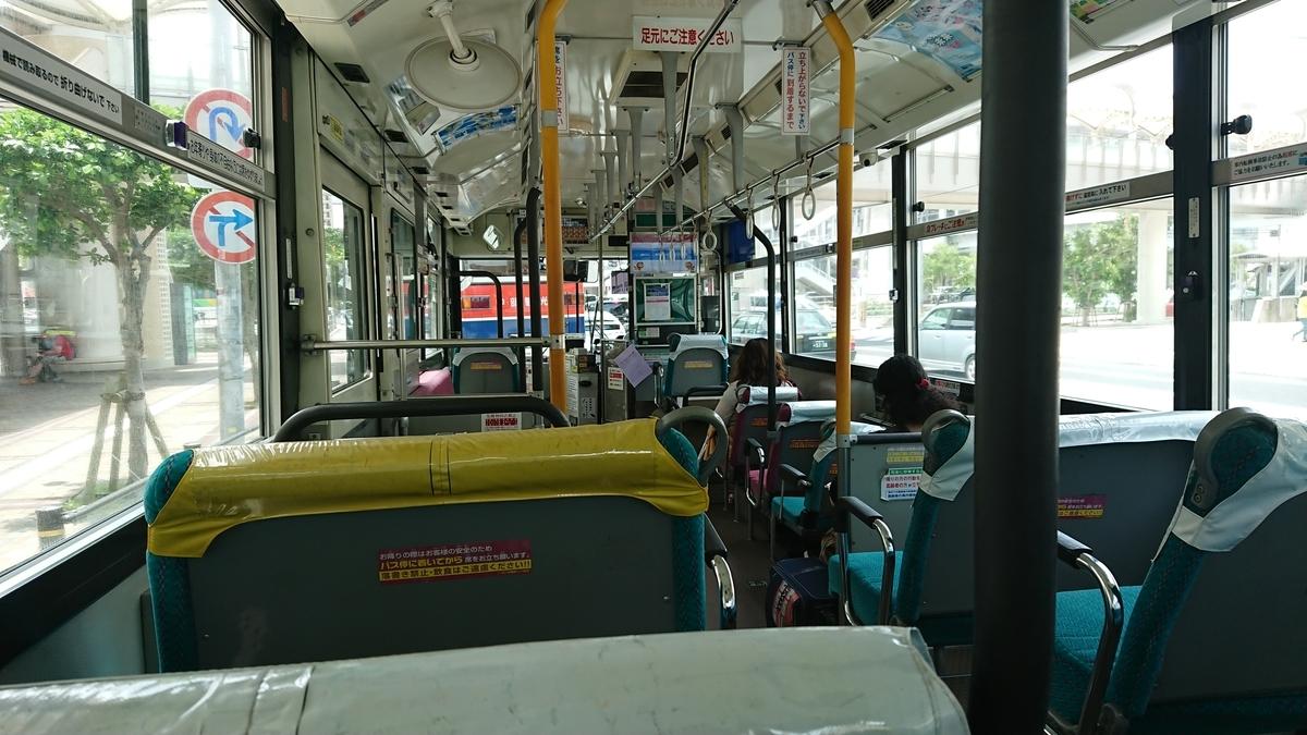 沖縄バス バス車内 那覇空港バス