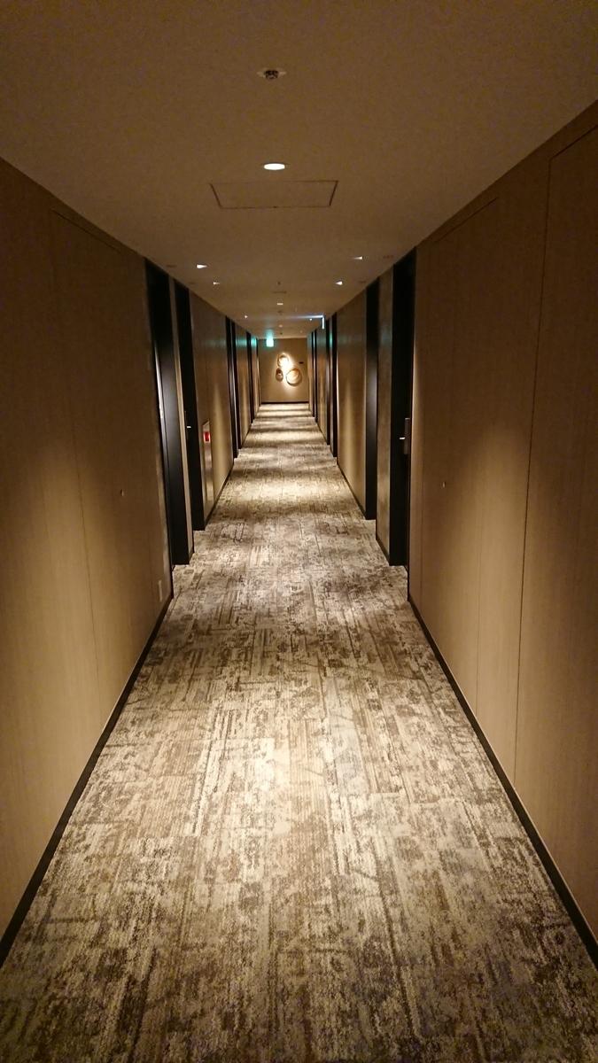 三井ガーデンホテル福岡祇園 廊下