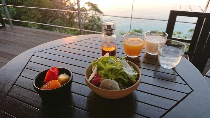 ネストアット奄美ビーチヴィラ 朝食