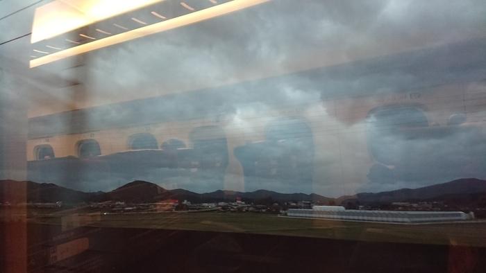 九州新幹線 つばめ303号 N700系 自由席