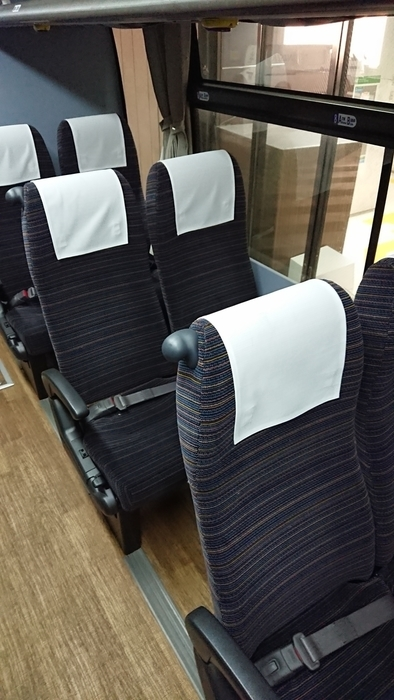 西鉄バス とよのくに号 座席