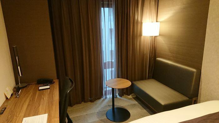 ダイワロイネットホテル博多冷泉 スタンダードダブルルーム
