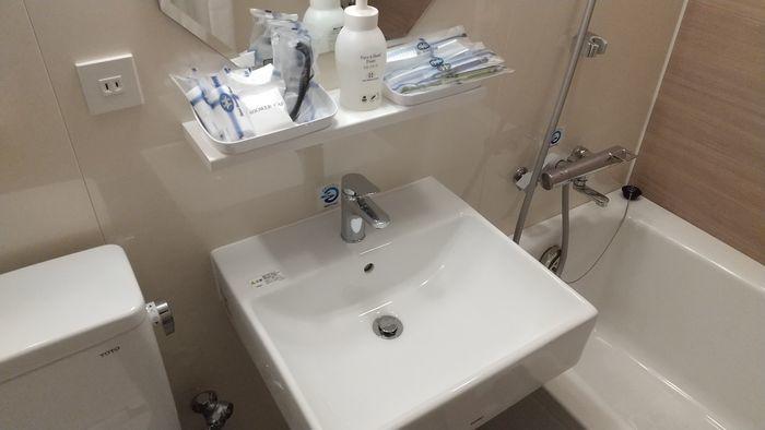 ホテルモントレ福岡 バスルーム