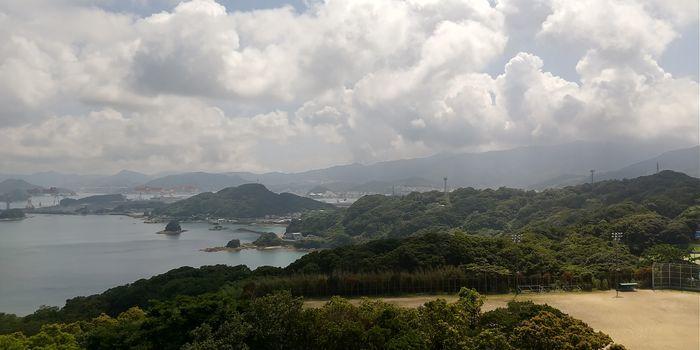 香焼総合公園展望台 野母崎ドライブ