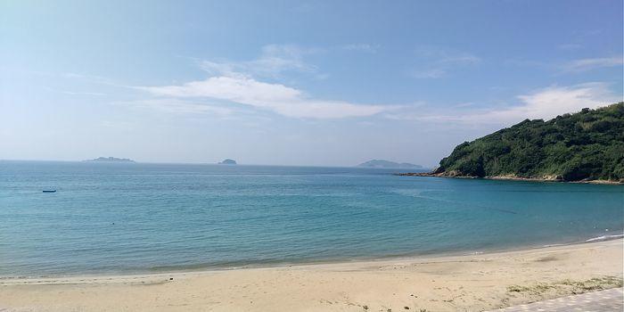 野母崎ドライブ 高浜海水浴場
