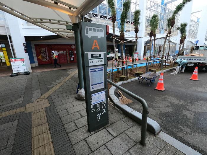 フェニックス号 宮崎駅バスセンター