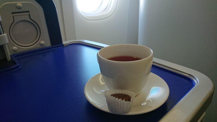ANA NH204便 ビジネスクラス 機内食