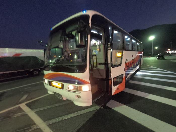 九州産交バス なんぷう号 エアロバス