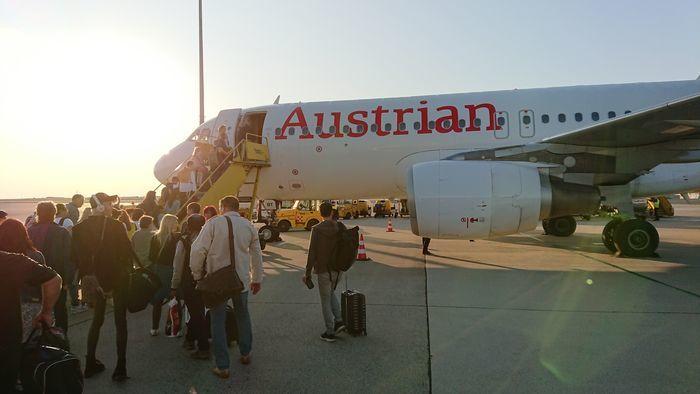 オーストリア航空 OS301便 A320-200