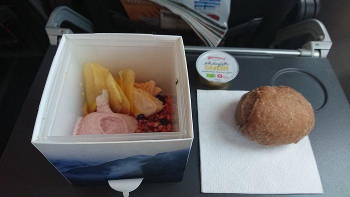 スカンジナビア航空 SK675便 ビジネスクラス 機内食