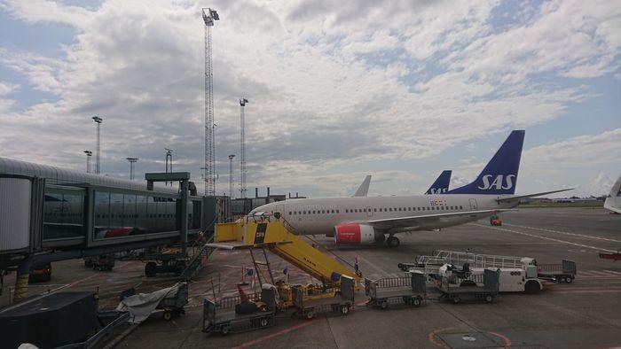 スカンジナビア航空 SK675便