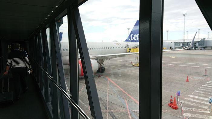 スカンジナビア航空 SK675便 A320-200