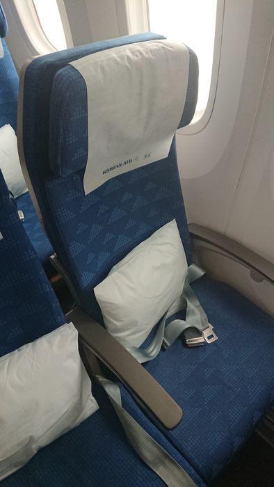 大韓航空 KE788便 エコノミークラス