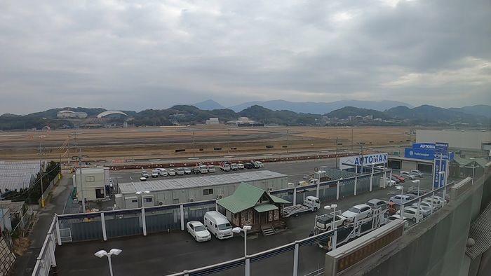 西鉄バス 桜島号 車窓