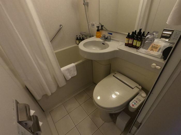 センチュリオンホテル鹿児島天文館 スタンダードクイーン バスルーム