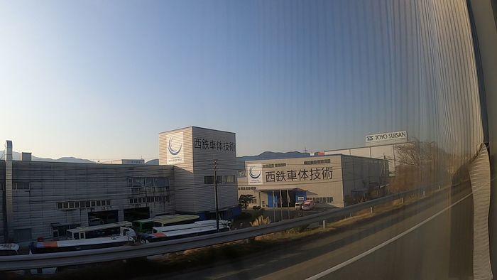 九州急行バス 九州号 車窓