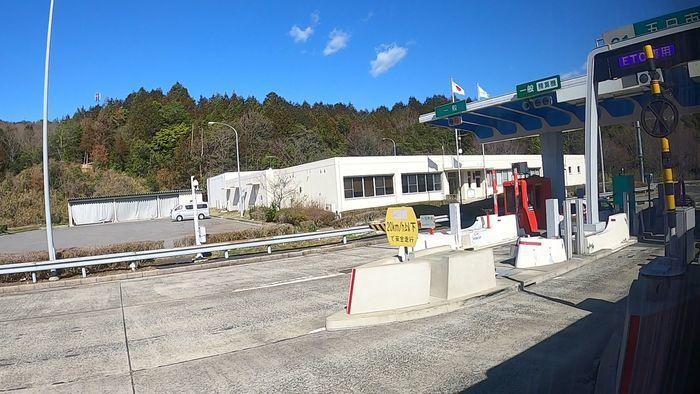 JR九州バス 広福ライナー 車窓