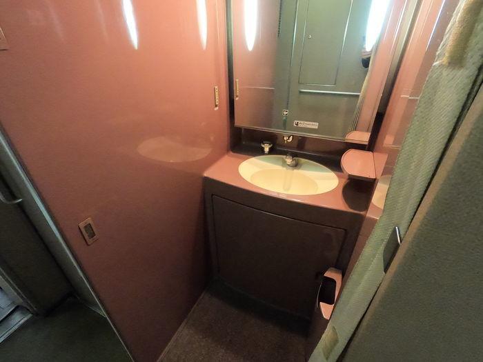 こだま853号 700系 洗面台