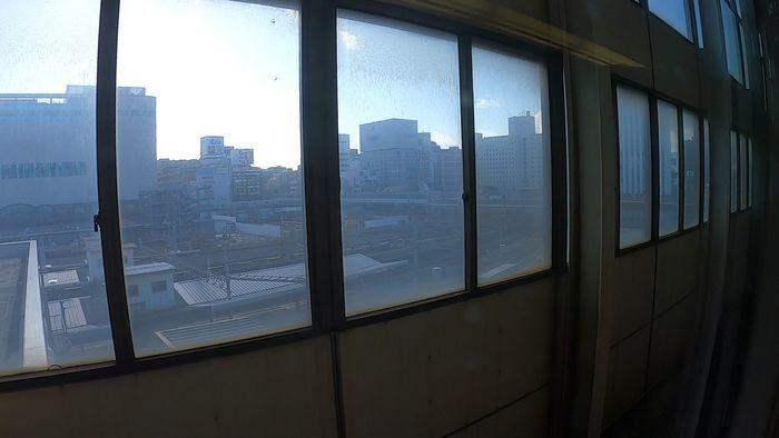 こだま853号 車窓