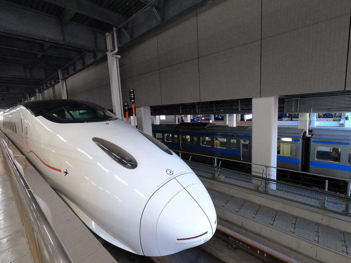 九州新幹線 つばめ317号 800系