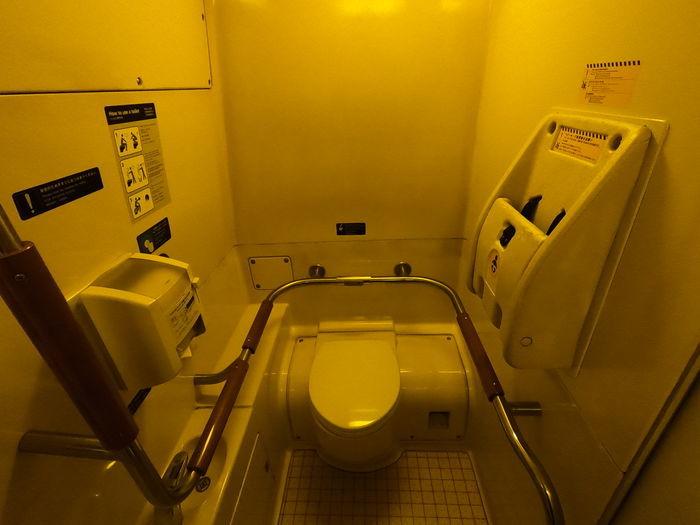九州新幹線 つばめ 800系 トイレ