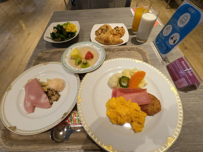 ホテルモンテエルマーナ福岡 朝食
