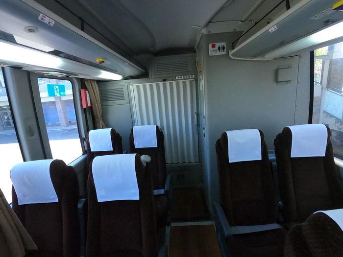 西鉄バス 島原号 4列シート
