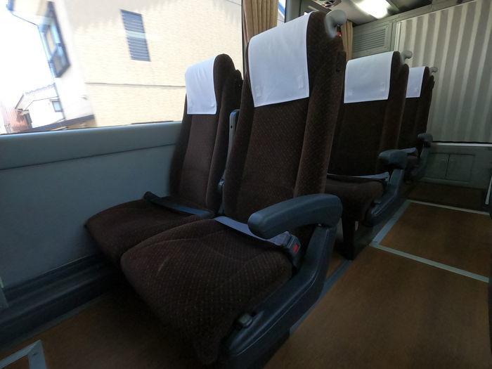 西鉄バス 島原号 座席