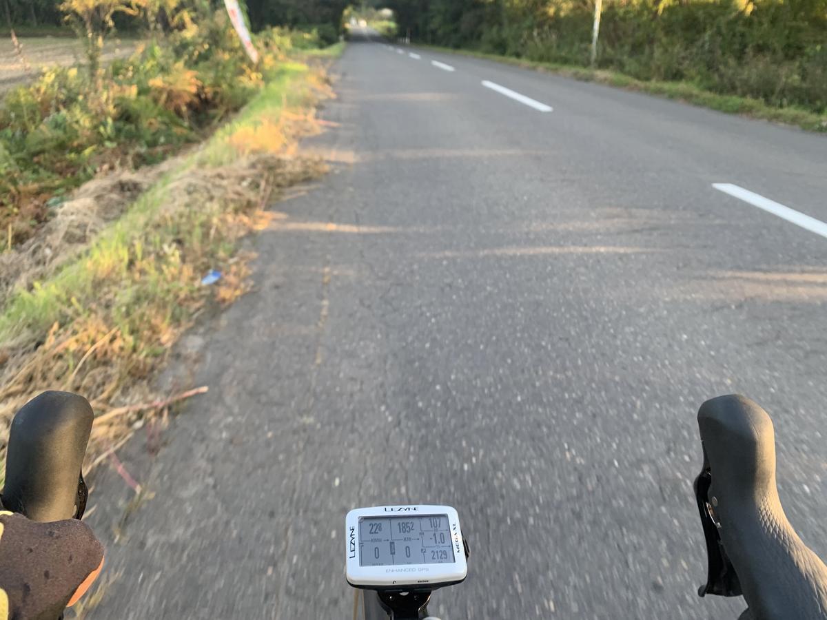 ロングライド 舗装路
