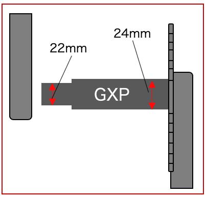 SRAM GXP スピンドル 規格