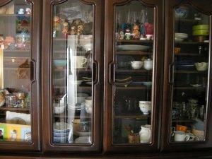 食器棚の断捨離