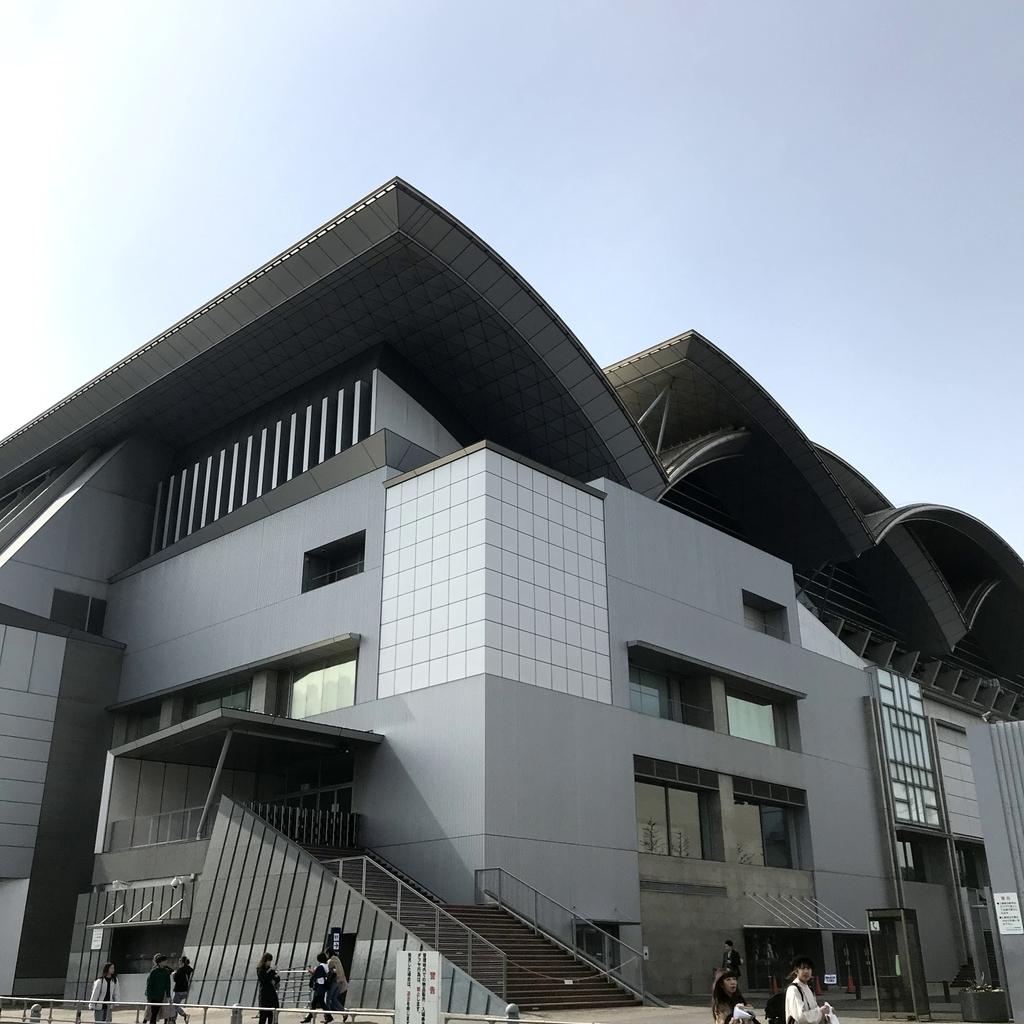 マリンメッセ福岡の外観