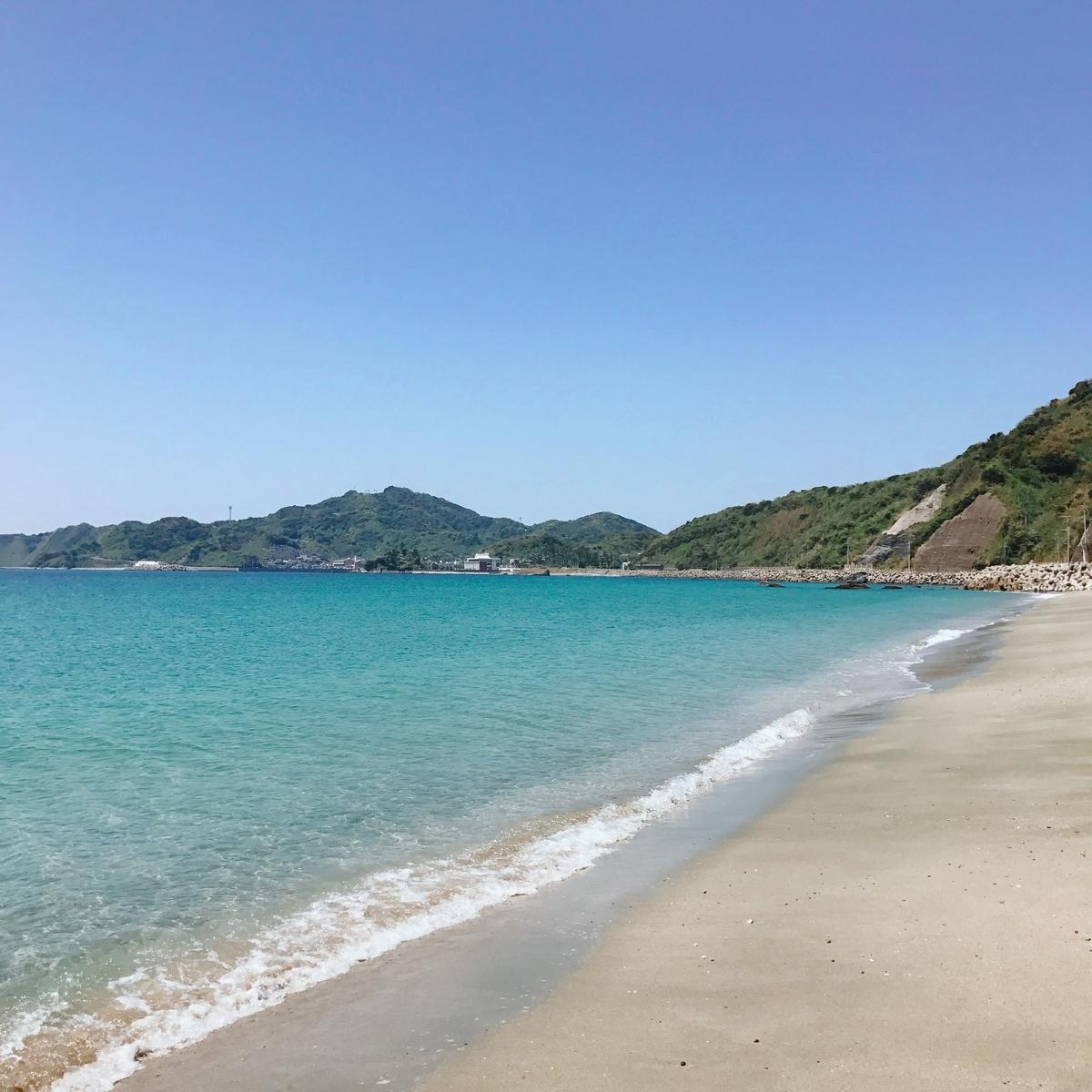 脇岬海水浴場の写真