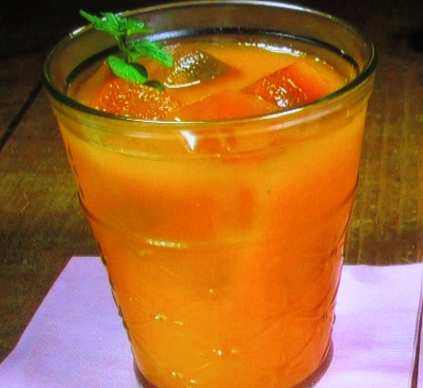 ファーマーズカフェの緑黄色野菜ジュース