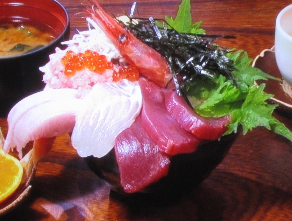 つれづれの海鮮丼